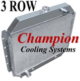 Champion Radiators - Ford Truck (67-79)/Bronco(78-79) - 3 Row