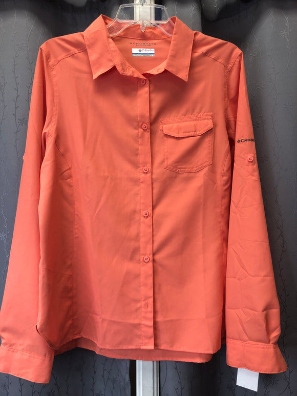 Columbia omni shade sun protection blouse in Sz L
