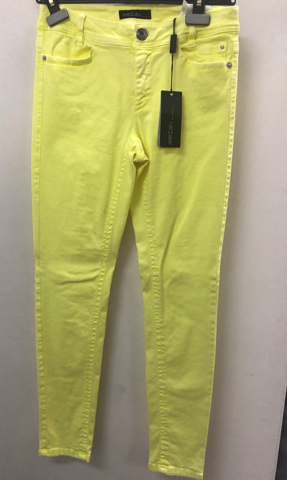 Lime green Marc Cain skinny pants Sz 4
