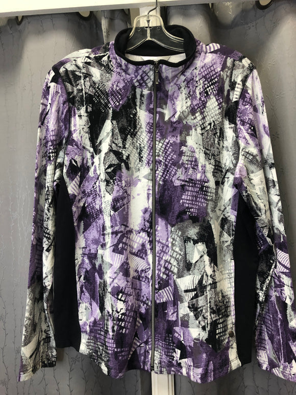 Northern Reflections Zip Up Top Sz L