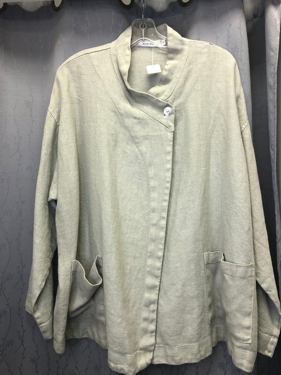 Cutloose  linen jacket in Sz M/L