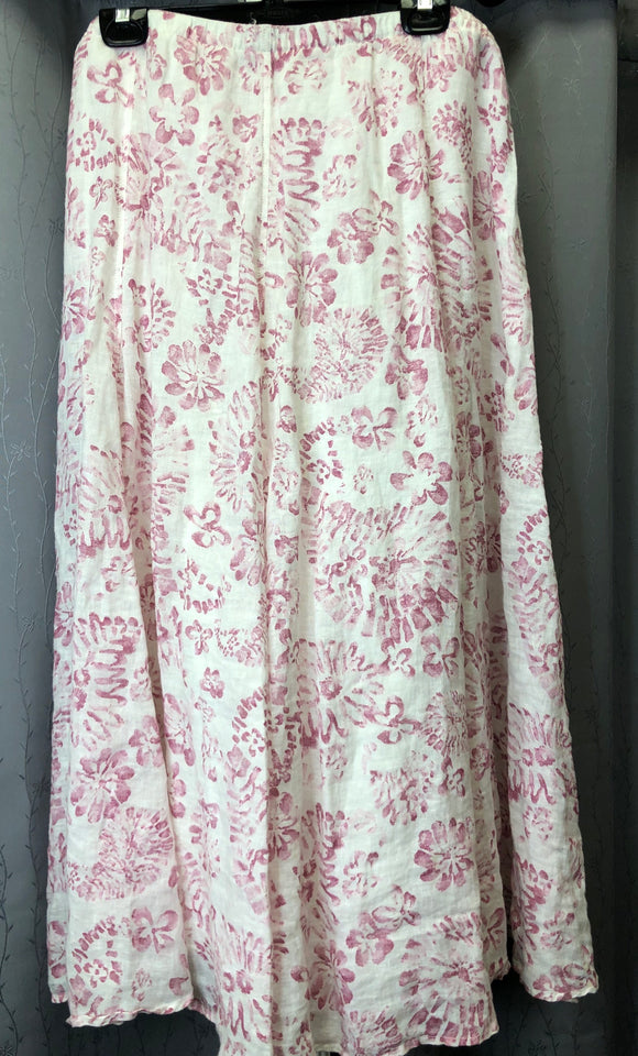 J Jill linen skirt in Sz 10/12