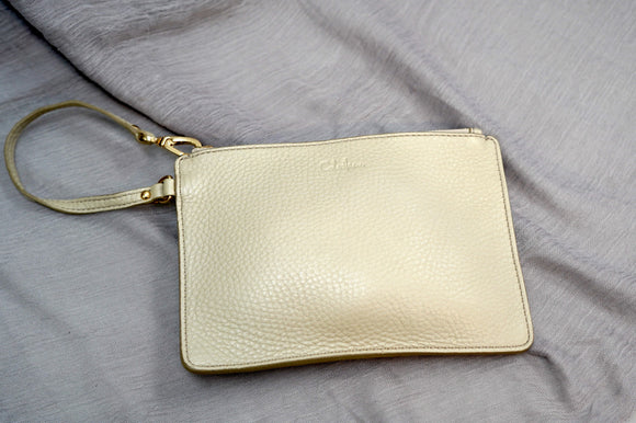 Cole Haan Leather Wristlet