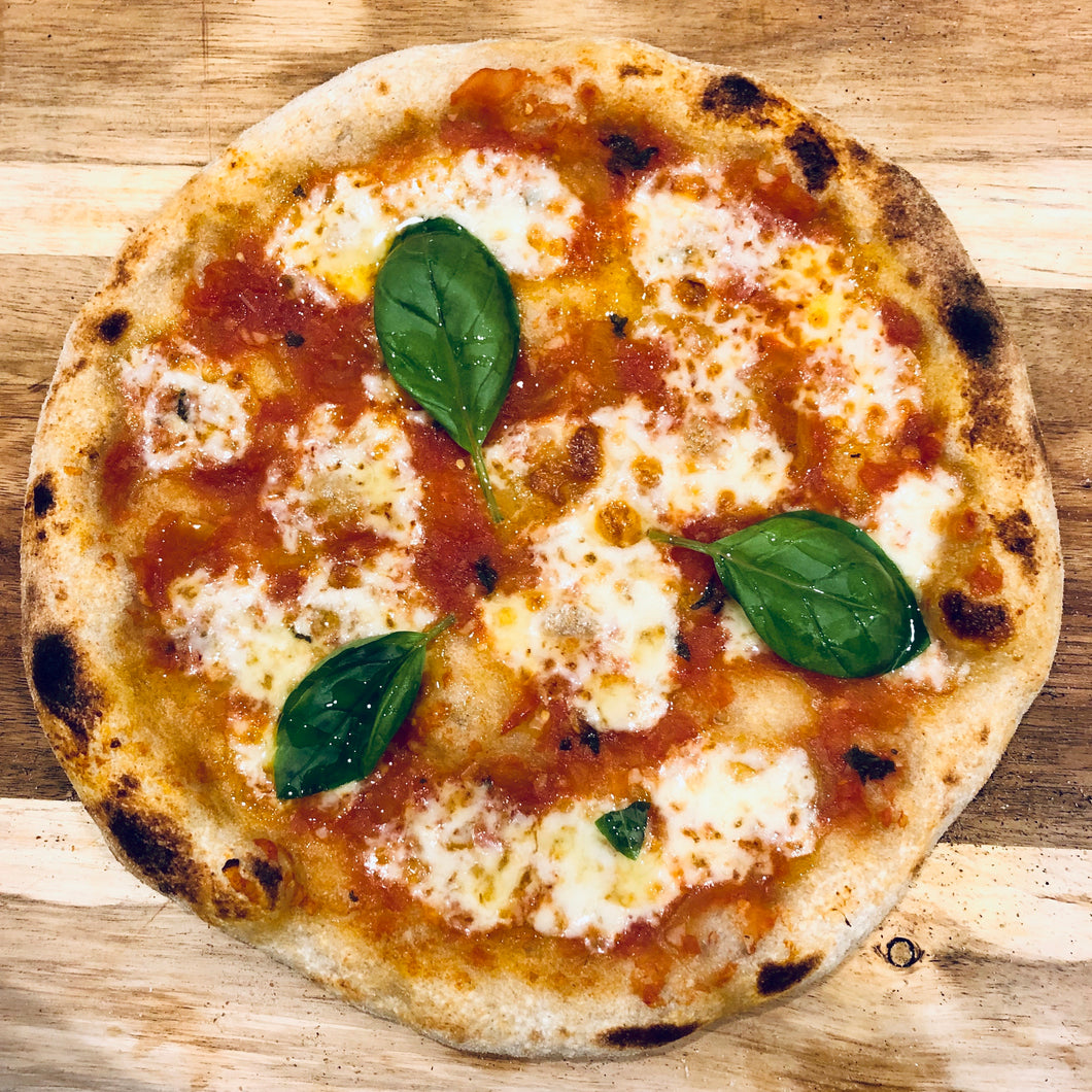 Sourdough Pizza Formula and Method