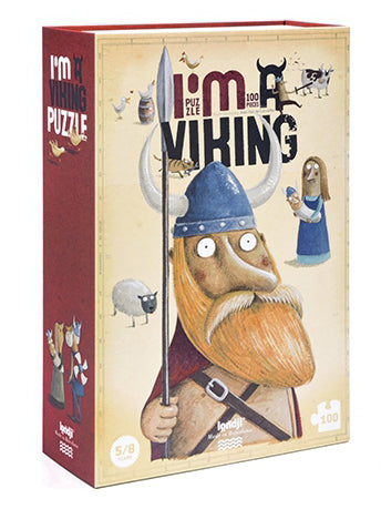 I am a Viking Puzzle - Londji