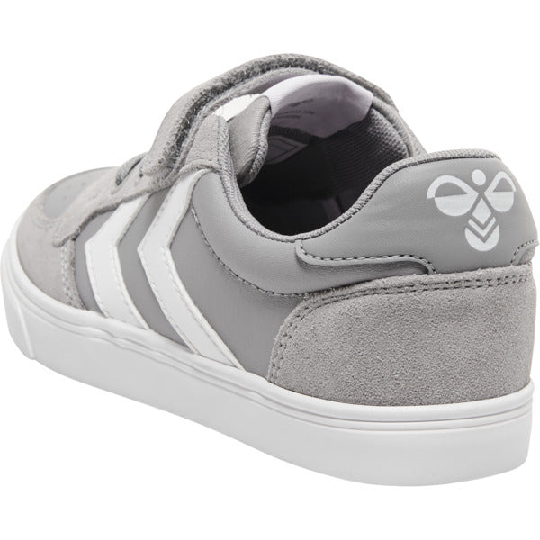 Slimmer Stadil Leather Low Junior, alloy - Hummel