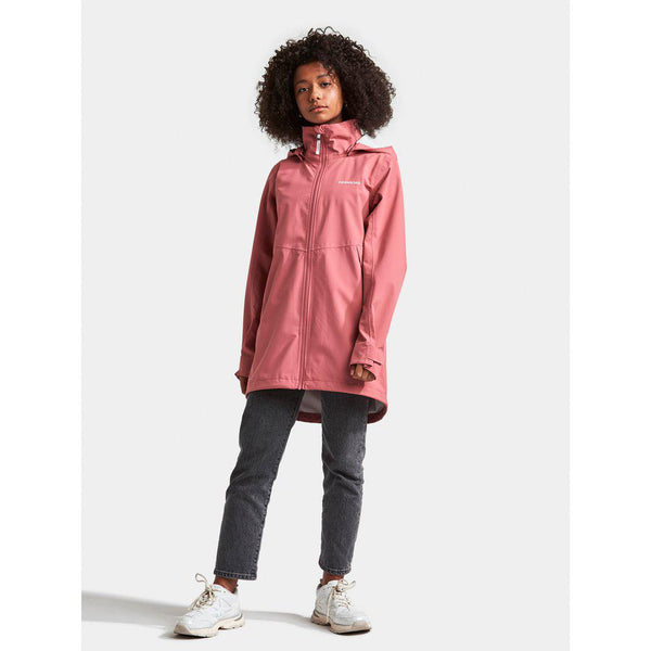 Hamna Youth Jacket, heather pink - Didriksons