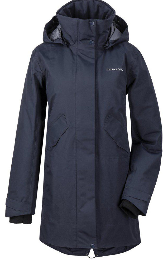 Tanja Womens Parka, dark night blue - Didriksons