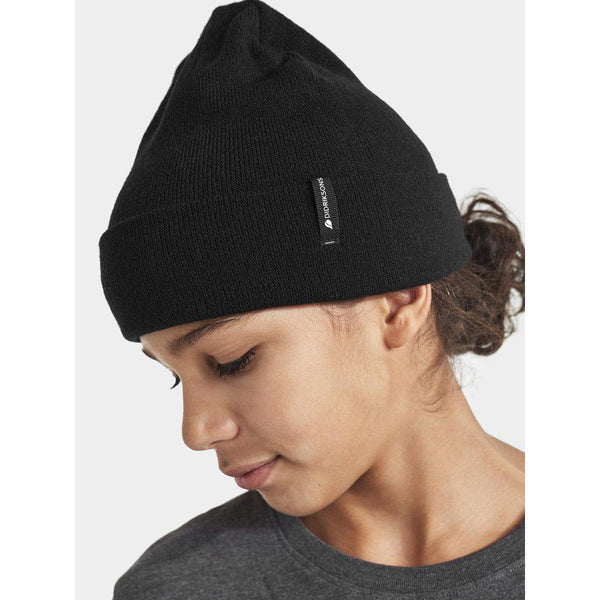 Knop Youth Hat, black - Didriksons