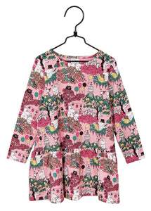Moomin Party Moment Dress, rose