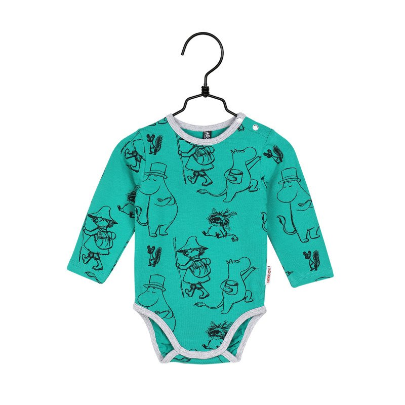 Moomin Body, green