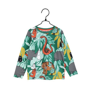 Moomin Jungle Longsleeve, green