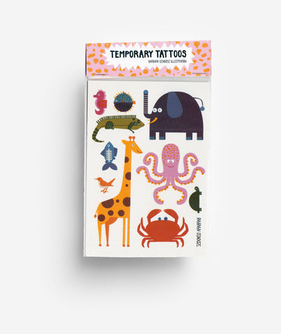 Animals - Temporary Tattoos