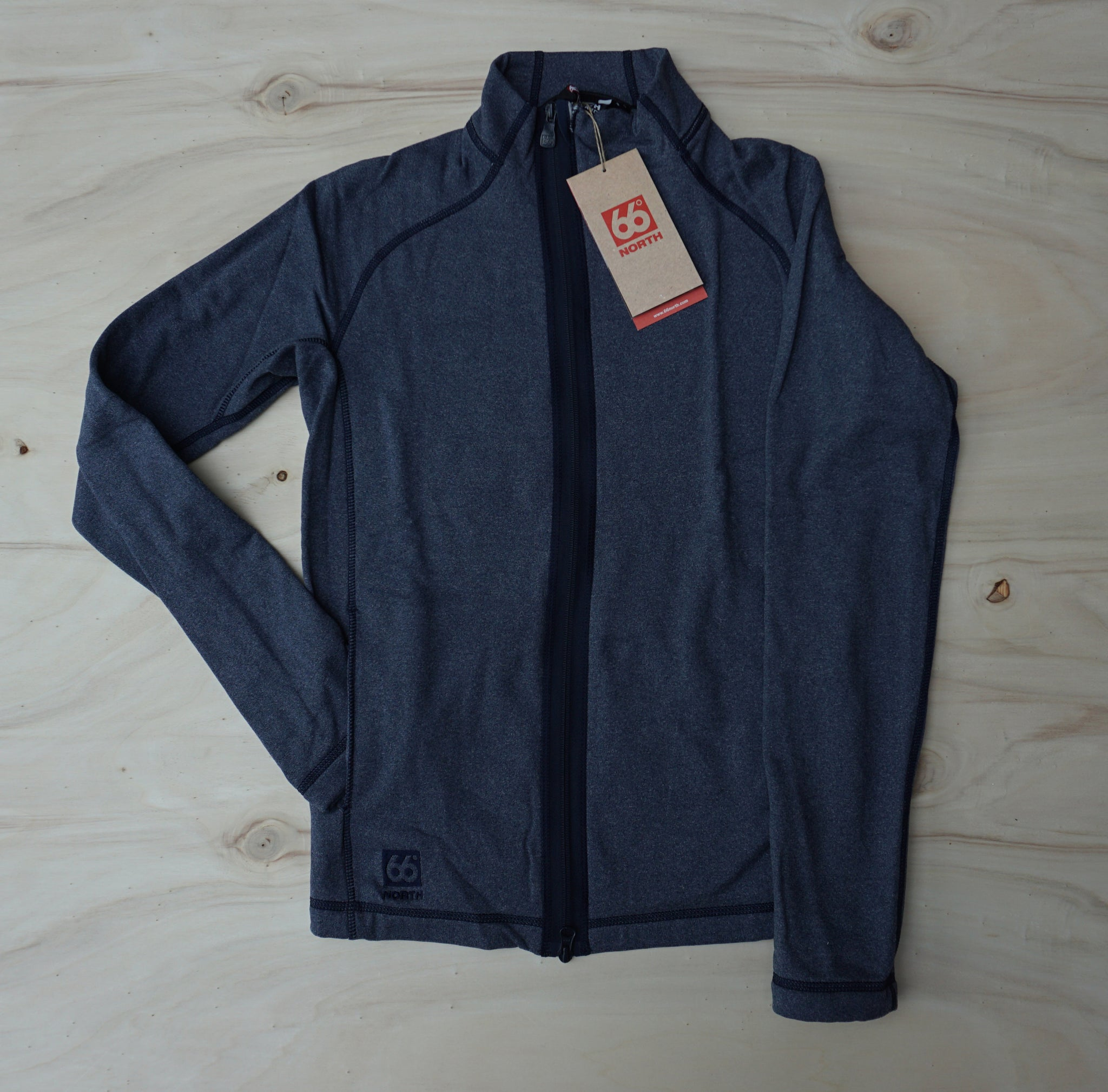 Vik Mens Heather Jacket, jeansblue - 66°North