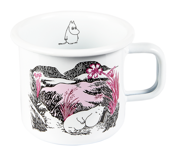 Nap in the Meadow, Emaille-Tasse 370ml - Geschenkbox