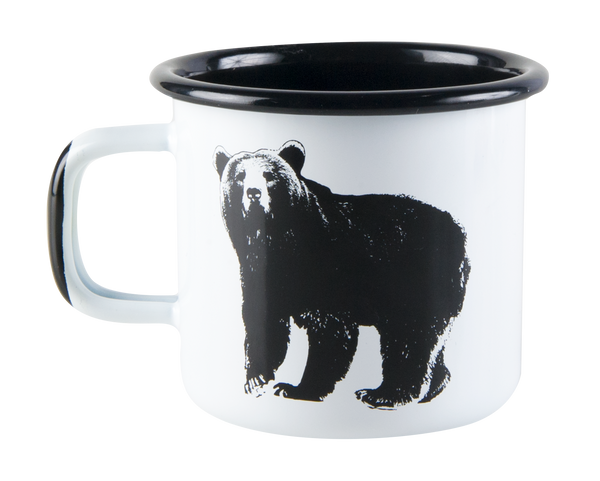 The Bear, Emaille-Tasse 370ml