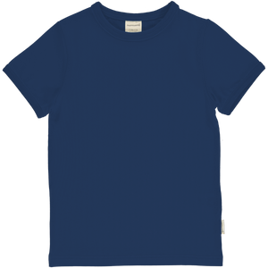T-Shirt, navy - Maxomorra