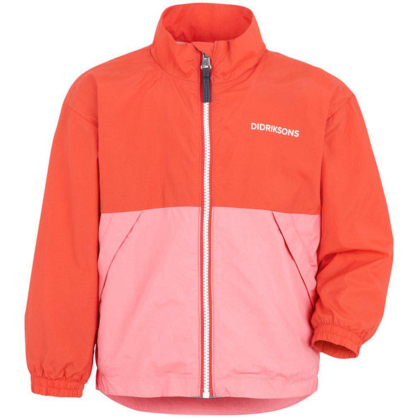 Ventus Wind-Jacket, poppy red - Didriksons
