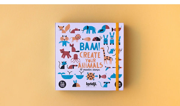 Stempelset Animals - Londji