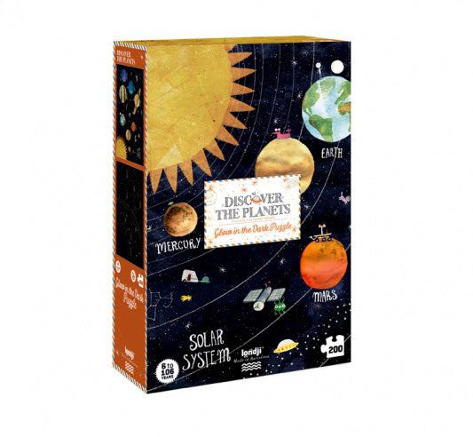 Glow in the dark Planets Puzzle - Londji