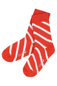 Davy Socks, grenadine red - LilyBalou
