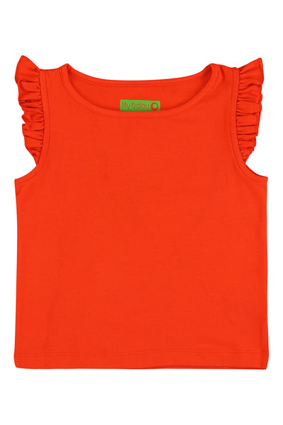 Eline Top, grenadine red - LilyBalou