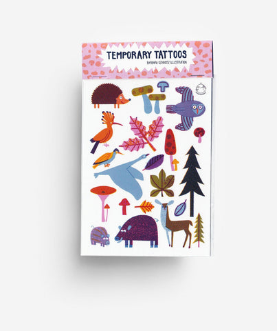 Woodland - Temporary Tattoos