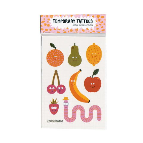 Fruits - Temporary Tattoos