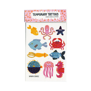 Underwater - Temporary Tattoos