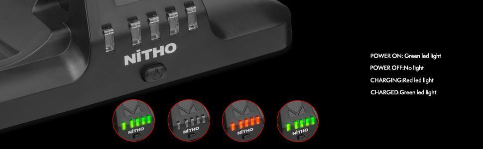 SWITCH DUAL CHARGER PRO - NiTHO
