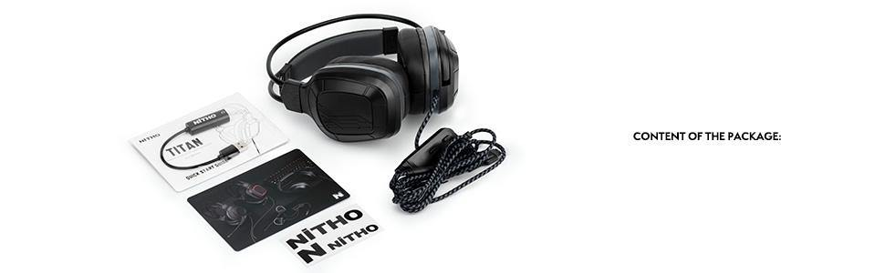 Titan 7.1 Surround Sound Gaming Headset (with Windows® 10 driver) - NiTHO