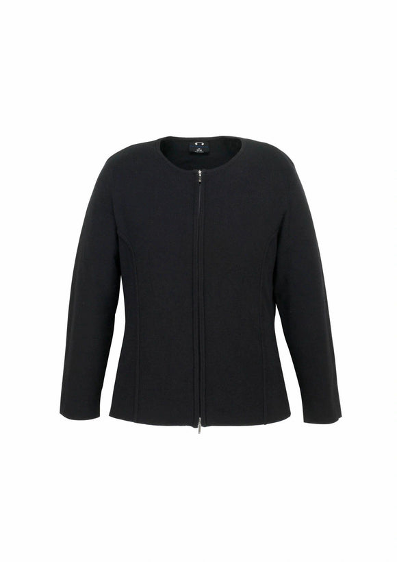 2-Way Zip Cardigan | Womens