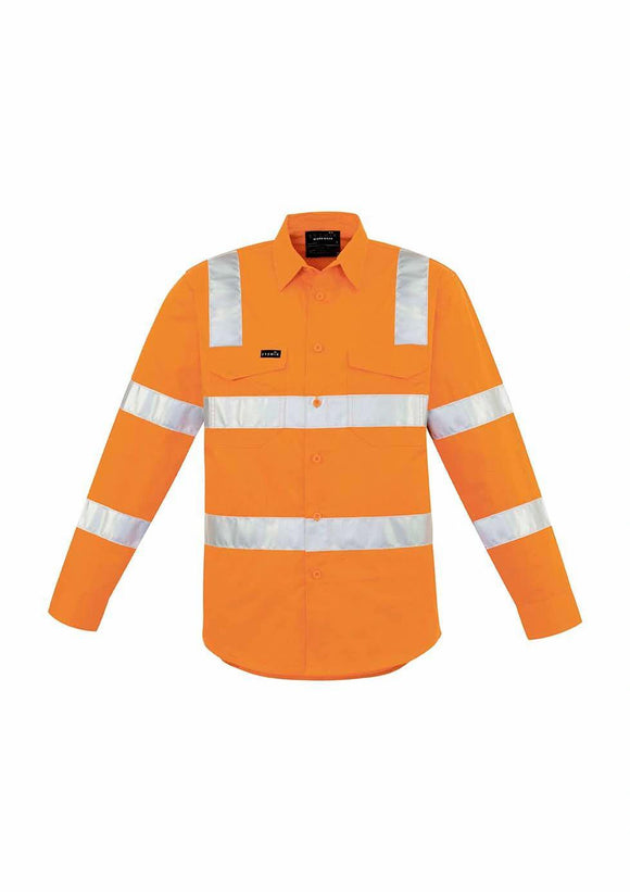 Hi Vis X Back Taped Shirt | Mens