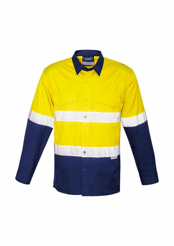 Hi Vis Spliced Cooling Taped Shirt | Mens