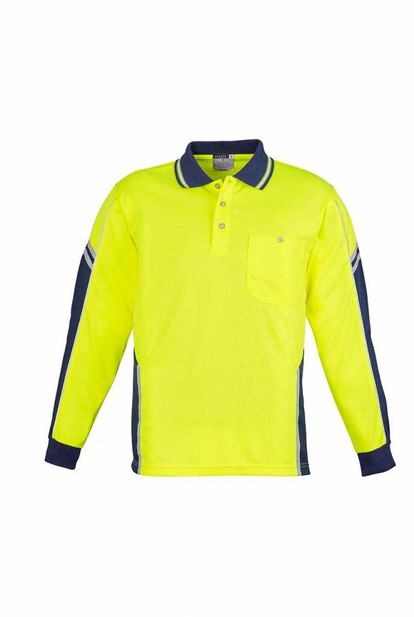 Hi Vis Squad Long Sleeve Polo | Mens