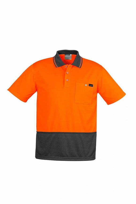 Comfort Back Short Sleeve Polo | Mens