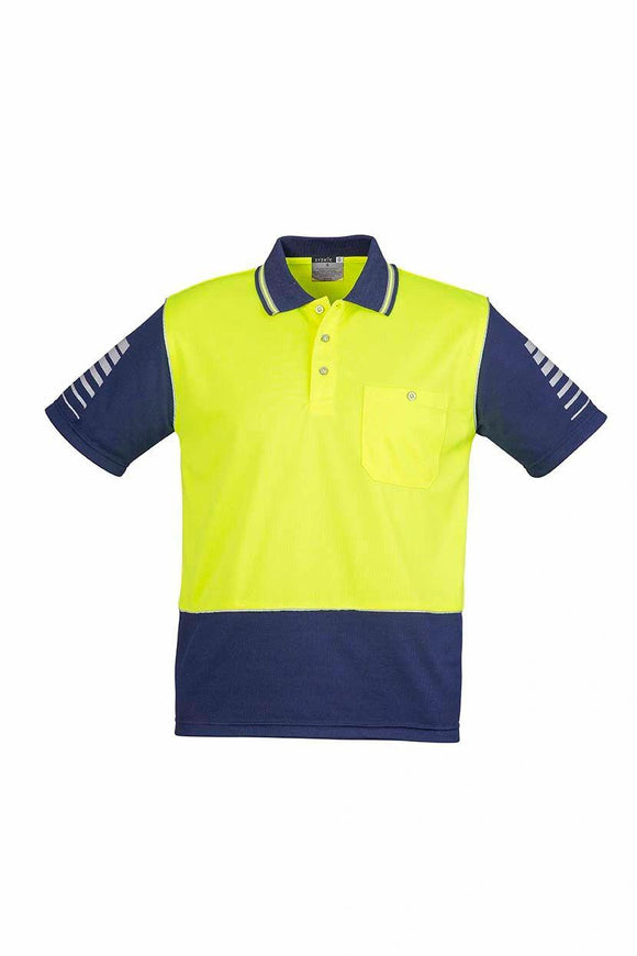 Hi Vis Zone Short Sleeve Polo | Mens