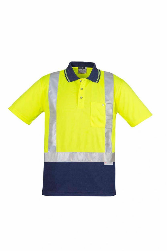 Hi Vis Splice Short Sleeve Polo | Mens