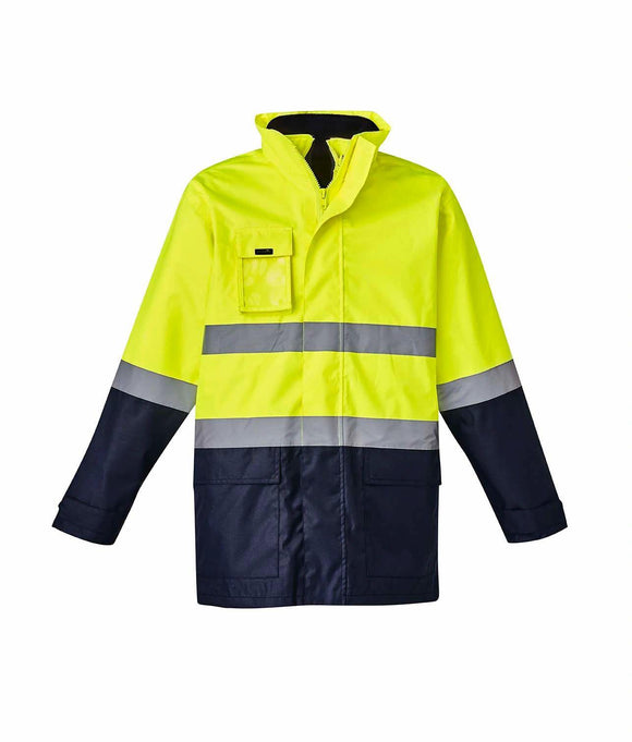 Hi Vis Basic 4 in 1 Waterproof Jacket | Unisex