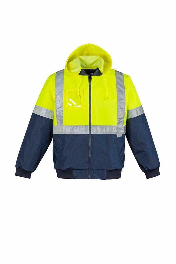 Hi Vis Quilted Flying Jacket | Unisex