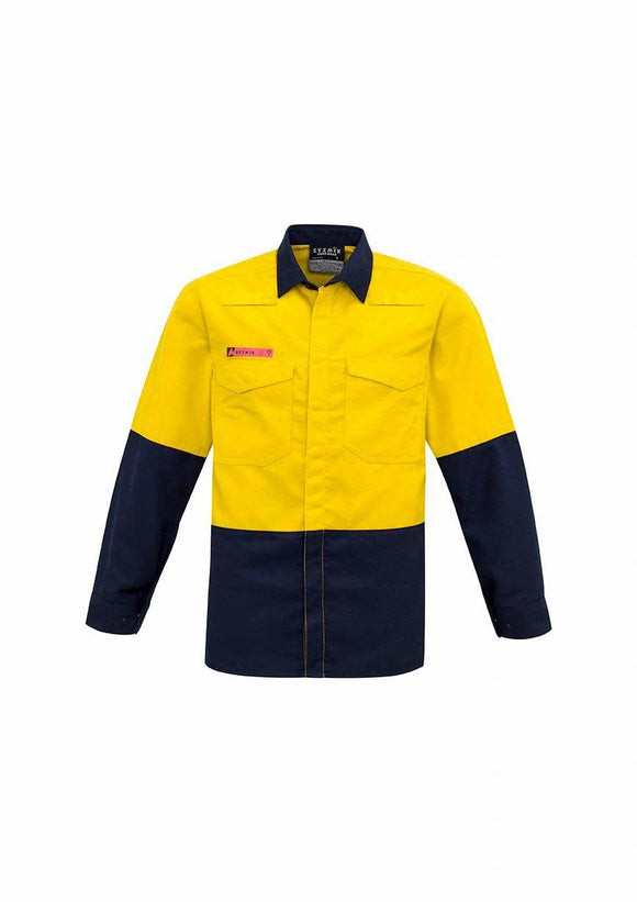 Hi Vis Spliced Shirt | Mens