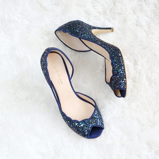 High Heels Celeste Dark Blue