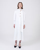 Dress Safari White