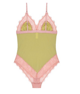 Bodysuit Doris Lace Lime