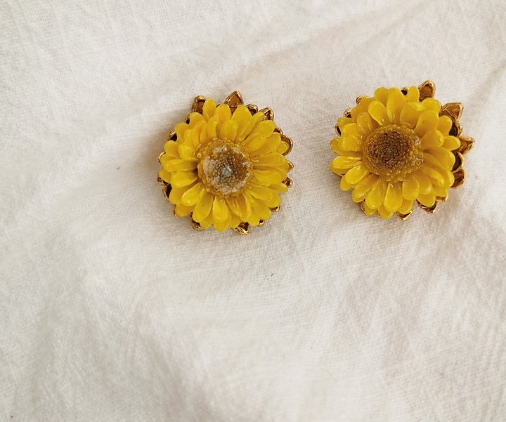Earring Mellone Yellow