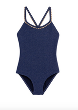 Swimsuit One Piece Bali Navy