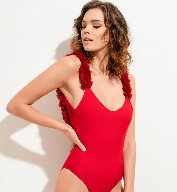 Swimsuit After Party Red