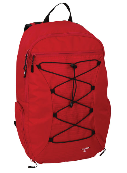 Lobo True Red Daypack
