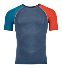 Laden Sie das Bild in den Galerie-Viewer, 120 Comp Light Short Sleeve Men blue Ortovox Sport Raith