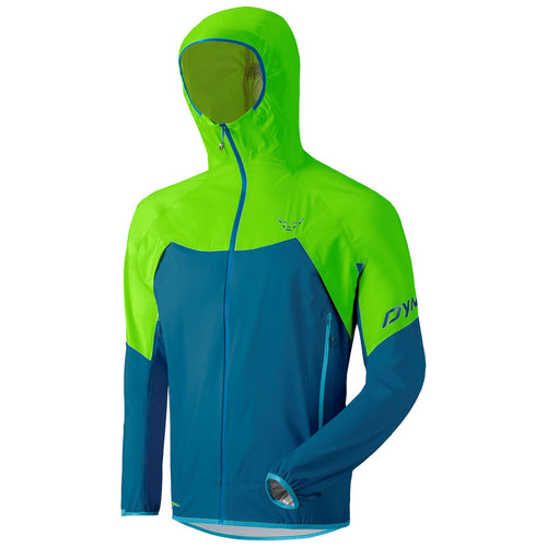 Hiking Transalper Light 3L Jacket Men blue green Dynafit bei Sport Raith